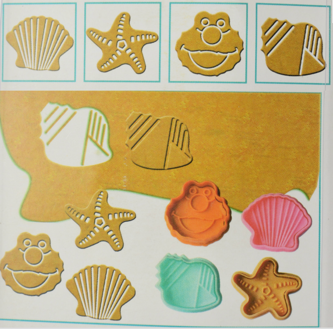 Allforhome™ 4pcs of Sea Animals Set Biscuits plunger Cutter