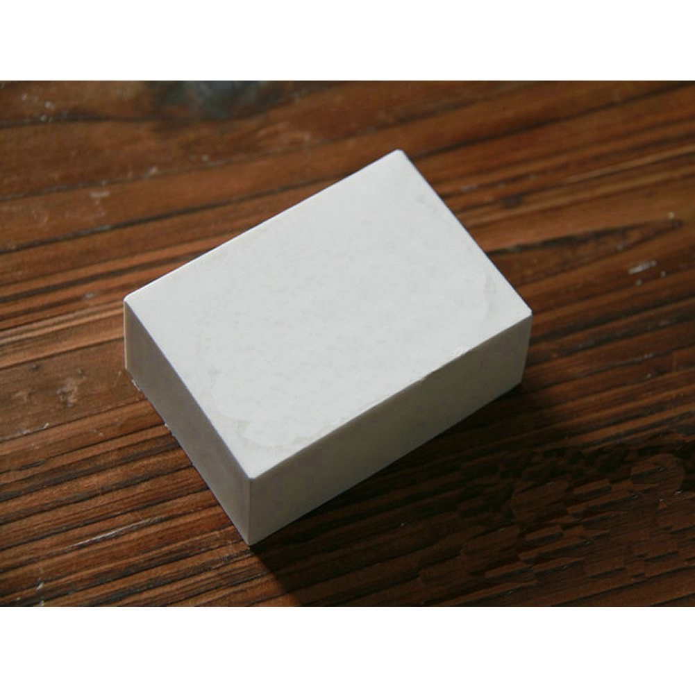 Allforhome™ 6 cavity Plain Basic Rectangle Soap DIY Mold